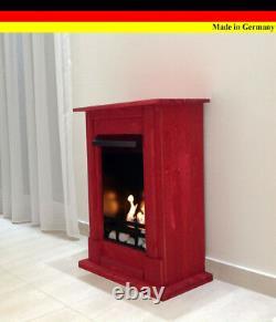 Ethanolkamin Gelkamin Kamin Fireplace Cheminee Caminetti Madrid Premium Rot