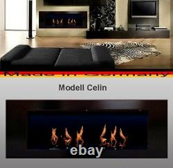 Fireplace Celin-Black for Gel or Ethanol / Made in Germany / fire place etanol