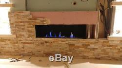 Fireplace Firebox Burner Bio Ethanol Insert Biofuels Victory 80 cm