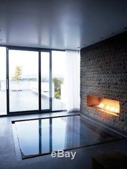 Fireplace Firebox Burner Bio Ethanol Insert Biofuels Victory Grand Solid Line