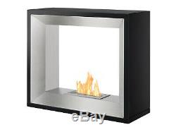 Freestanding Ventless Bio Ethanol Fireplace Tempo Ignis
