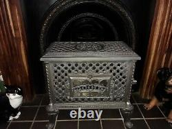 French Antique Godin Chauffette stove, bioethanol conversion