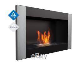 GOLF Wall hung Fireplace, Bio-Ethanol Bio Fireplace TUV Certified