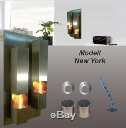 Gel- et Ethanol-Cheminée New-York / Fabriqué en Allemagne / fireplace kamin bio