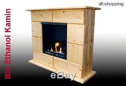 Gel- und Ethanol-Kamin Luxor-Natur / gelkamin ethanolkamin bioethanol fireplace