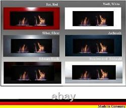 Gel und Ethanolkamin Modell Celin Deluxe / Wählen Sie aus 6 verschiedenen Farben