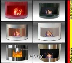 Gelkamin Ethanolkamin Kamin Modell Sahara Wählen Sie aus 6 verschiedenen Farben