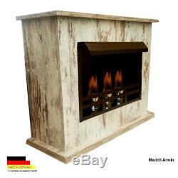 Gelkamine Ethanolkamine Kamin Fireplace Ceminee Armin Vertiko Shabby Bio Ethanol