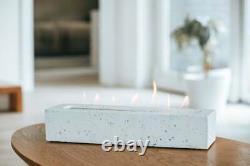 Handmade Portable Bio Ethanol Fuel Burner Gift Real flame burner Tabletop Colour