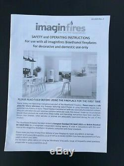 IMAGIN Malvern Bio ethanol real flame Fire wood burning stove design