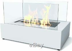 Imagin Fires Eton White Bio Ethanol Fireplace, IMBF01W Brand New Boxed