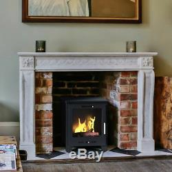 Imagin Fires Malvern Bio-Ethanol Real Flame Fireplace Ceramic Logs + 6 x 1L Fuel