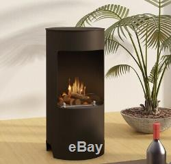 Imagin Fires Stow Bio-Ethanol Real Flame Fireplace + 6 x 1L Bottle of Fuel