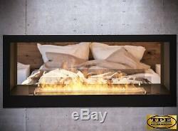 InFire Bio tunnel 1200 2 sided Bio-Ethanol Bio Fireplace insert