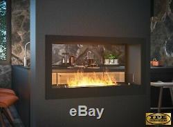 InFire Bio tunnel 900 2 sided Bio-Ethanol Bio Fireplace insert