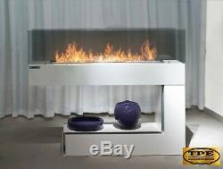 InFire Spectrum Freestanding modern 2 sided Bio-Ethanol Bio Fireplace