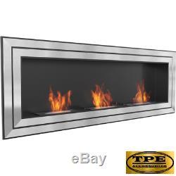 JULIET 1800 wall hanging Bio-Ethanol Bio Fireplace + FREE Starter Pack