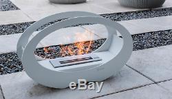 LUNA Free standing Fireplace, Bio-Ethanol Bio Fireplace TUV Certified