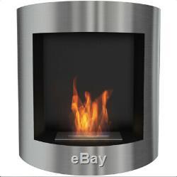 Luxury Bio Ethanol Fireplace 77 x 81cm Wall hanging fireplace
