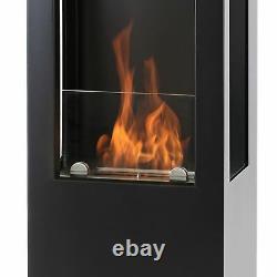 Muenkel design Prism Fire L 3-seitiger BIO-Ethanol Ofen Stand (FKE-0352. RP. MS)