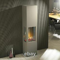Muenkel design Prism Fire L 3-seitiger BIO-Ethanol Ofen Stand (FKE-0352. SZ. MS)