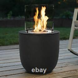 Muenkel design Vagos beton-grau BIO-Ethanol Feuerstelle Garte (FKE-0873. BGR)