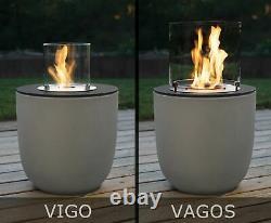 Muenkel design Vigo beton-grau BIO-Ethanol Feuerstelle Garten (FKE-0872. BGR)