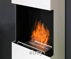 Muenkel design flip Bioethanol Kamin schwarz-grau