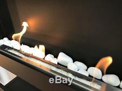 NEU! Wandkamin 900x400 Biokamin Bioethanol Biokamin Schwarz-Top Qualität