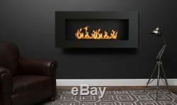 NEW Bio ethanol fire fireplace 900 x 400 + glass + gifts