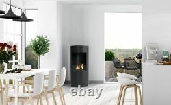 NEW! Freestanding Bio Ethanol Fire Fireplace Biofire H-U-L-K
