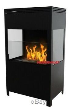 NEW Freestanding Bio Ethanol Fireplace Fire Biofire M A V R E L