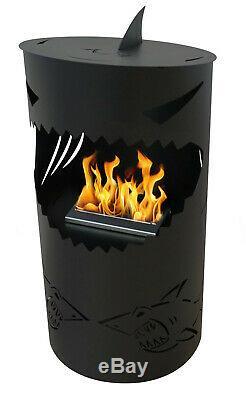 NEW MODERN Freestanding Bio ethanol fireplace biofire fire S-A-L-E