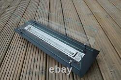 New bio ethanol burner insert 0.75l build in with aromatherapy option 650mm
