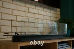 New bio ethanol burner insert 1.2l build in with aromatherapy option 1000mm SALE