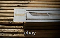New bio ethanol container firebox burner with wool insert 1.2l 800 mm curved