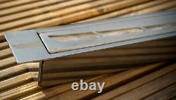 New bio ethanol container firebox burner wool insert 1.2l 800 mm curved SALE