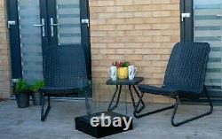 New bio ethanol large 1l fireplace burner friendly garden patio heater GREY SALE