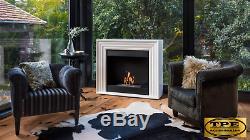 PLANET Free Standing contemporary Bio-Ethanol Bio Fireplace TUV Certified