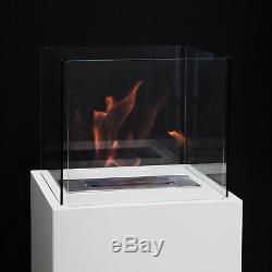 Perth Free Standing Bio-Ethanol Indoor Outdoor Fireplace Heater