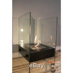 Premium Bio Ethanol Fireplace VISTA Clean Modern Design Beofires