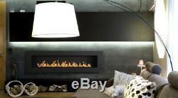 Professioanl Bio ethanol fire fireplace 1400 x 400