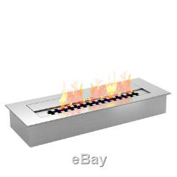 Regal Flame PRO 18 Inch Bio Ethanol Fireplace Burner Insert 2.6 Liter