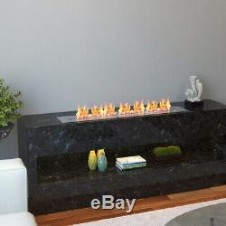 Regal Flame PRO 36 Inch Bio-Ethanol Fireplace Burner Insert 7.4 Liter