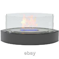 Regal Flame Veranda Ventless Fire Pit Fire Bowl Pot Bio Ethanol Fireplace Black