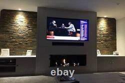 Remote Controlled (electric) bioethanol 180cm Fireplace