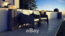 Romeo black with TÜV certified bio ethanol fireplace freestand 113cm