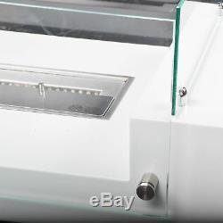 SEATTLE Bio-Ethanol Kamin Edel Weiß Wohnzimmertisch Luxuskamin Tischkamin