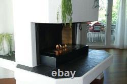 Smart Remote Controlled Bio ethanol Burner Fire Fireplace INSET AF50