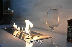 Smart Remote Controlled Bio ethanol Burner Fire Fireplace INSET AF50 Smart Home